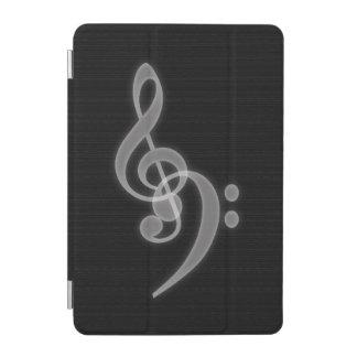 Music - Treble and Bass Clef iPad Mini Cover