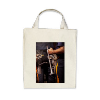 Music - Trumpet - Police marching band Tote Bags