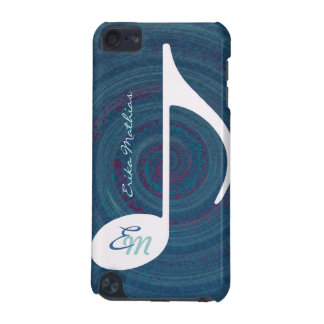 music twirl monogram iPod touch (5th generation) cover