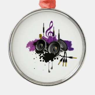 Music Vector Design Christmas Ornament