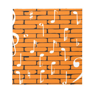 Music Wall Background Notepads