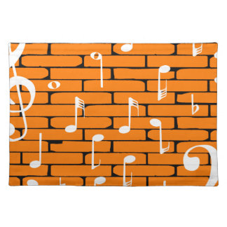 Music Wall Background Placemat