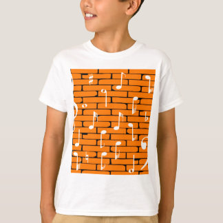 Music Wall Background T-Shirt