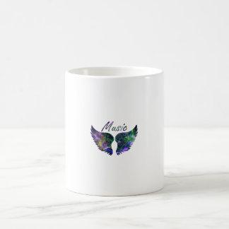 Music wings nova 1 purple green mug
