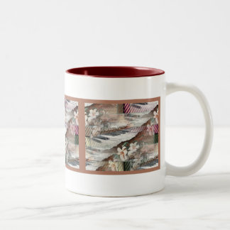 Music with Flowers Mug