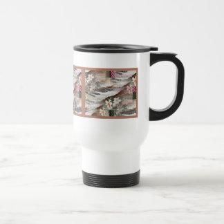 Music with Flowers Travel Mug
