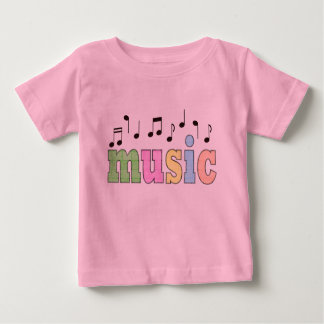 Music with Notes Baby T-Shirt