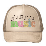Music with Notes Cap
