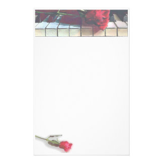 Musical1 Customized Stationery