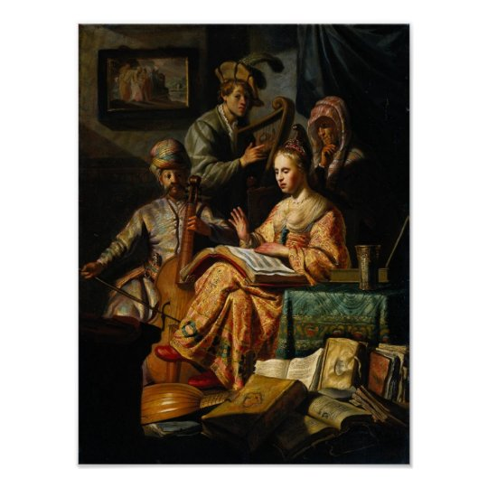 Musical Allegory Poster