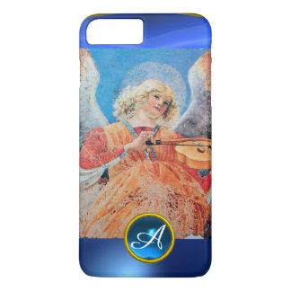 MUSICAL ANGEL , Blue Sapphire Monogram iPhone 7 Plus Case