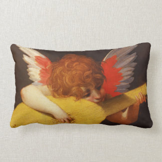 Musical Angel Vintage Pillow