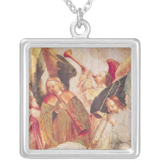 Musical Angels Silver Plated Necklace