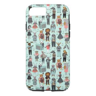 Musical Animal Alphabet - Blue / Andrea Lauren iPhone 7 Case