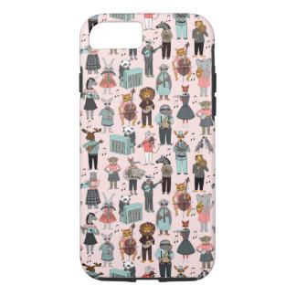 Musical Animal Alphabet - Pink / Andrea Lauren iPhone 7 Case