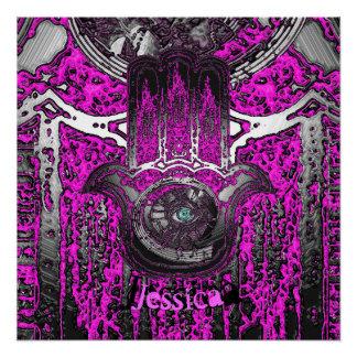 Musical Awakening (Pink) Poster