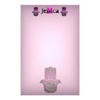Musical Awakening (Pink) Stationery Design