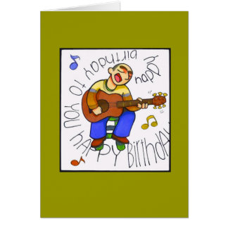 """musical birthday"" greeting card"