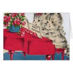 Musical Birthday Kittens Cards