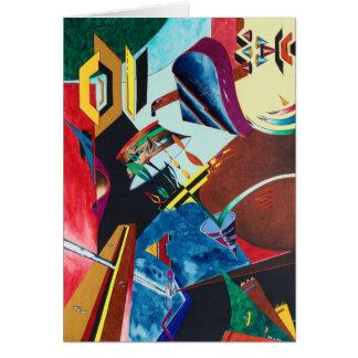 """""""Musical"""" Blank card by Viktor Tilson"""