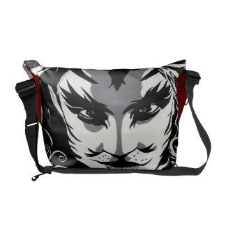 Musical Catman messenger bag