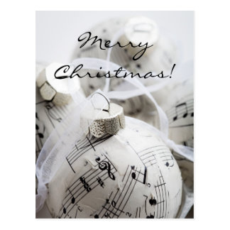Musical Christmas card Postcards