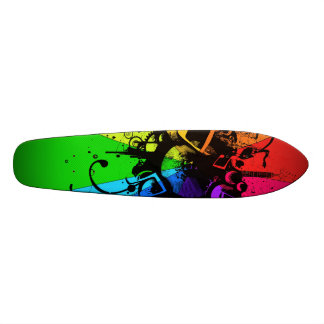 Musical Colour Board Skate Board Deck