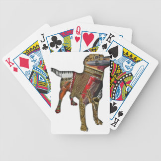 MUSICAL DOG BICYCLE PLAYING CARDS