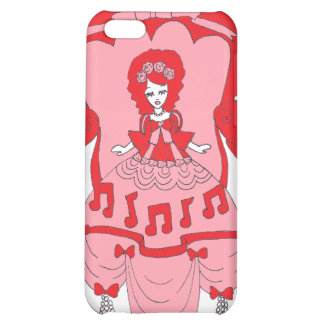 Musical Doll Theatre Pink Case For iPhone 5C