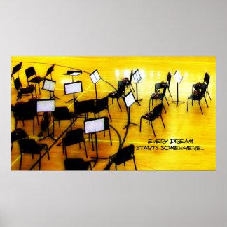 Musical Dreams Poster