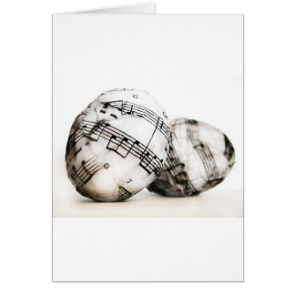 Musical Easter eggs Greeting Card