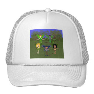 Musical Faerie Band in Enchanting Field Hats