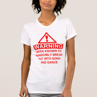 Musical Fan Warning T-Shirt