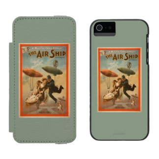 Musical Farce Comedy, The Air Ship Theatre 2 Incipio Watson™ iPhone 5 Wallet Case