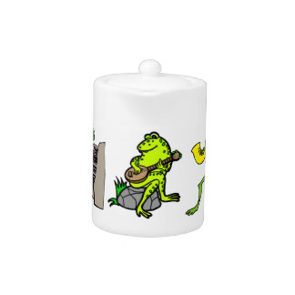 Musical Frogs Tea/Coffee Pot