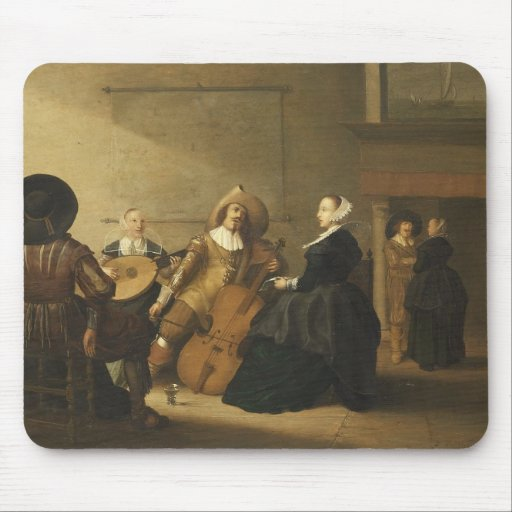 Musical Gathering by Pieter Symonz Potter Mouse Pads