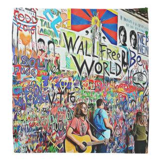 Musical Graffiti Art Wall Mural Bandanna
