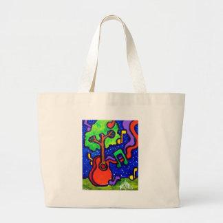 Musical Greetings by piliero Jumbo Tote Bag