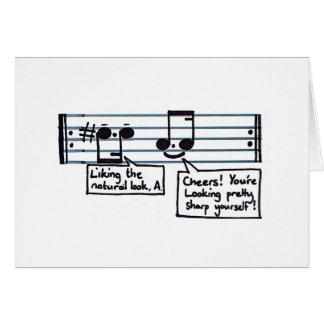Musical Greetings Greeting Card