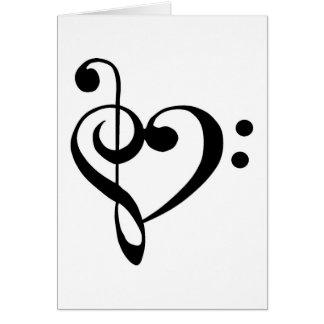 Musical Heart Card