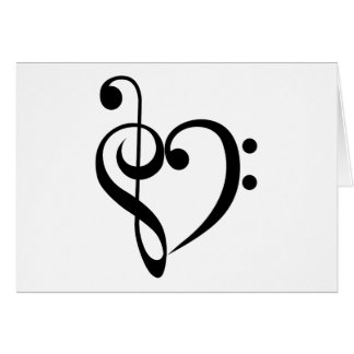 Musical Heart Card