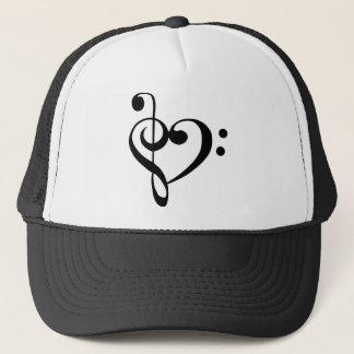 Musical Heart Trucker Hat