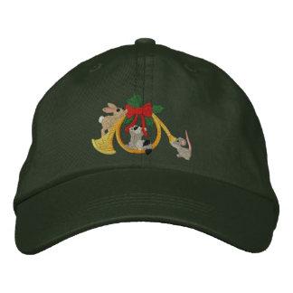 Musical Holidays Embroidered Baseball Caps