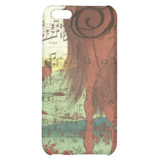 Musical Horse Monogram iPhone Case Case For iPhone 5C