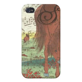 Musical Horse Monogram iPhone Case iPhone 4/4S Case