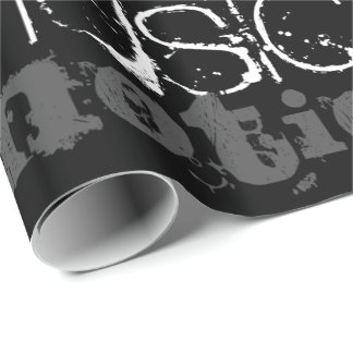 Musical Inspiration Black and White Gift Wrap
