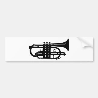 Musical instrument cornet - Musicians Bumper Stickers