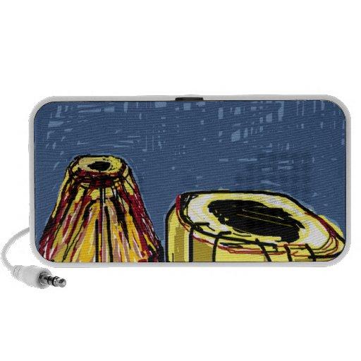 Musical Instrument Design Mini Speakers