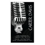 Musical Instrument - Mic Pack Of Standard Business Cards
