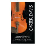 Musical Instrument - Violin Pack Of Standard Business Cards